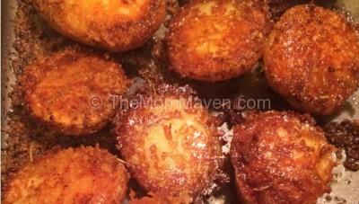 Crispy Parmesan Potatoes Recipe