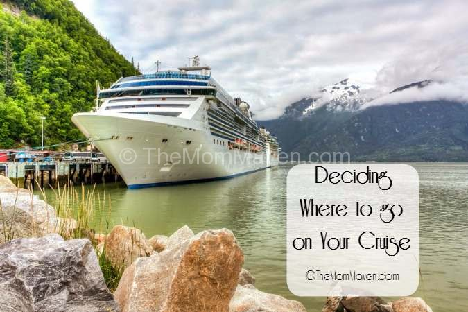 Deciding where to go on your cruise