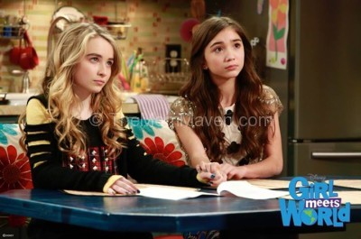 Riley & Maya-Girl Meets World photo courtesy of Disney Channel