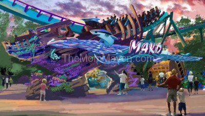 Mako-Surfacing at SeaWorld in 2016