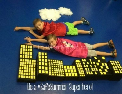 Be a Safe Summer Superhero-title