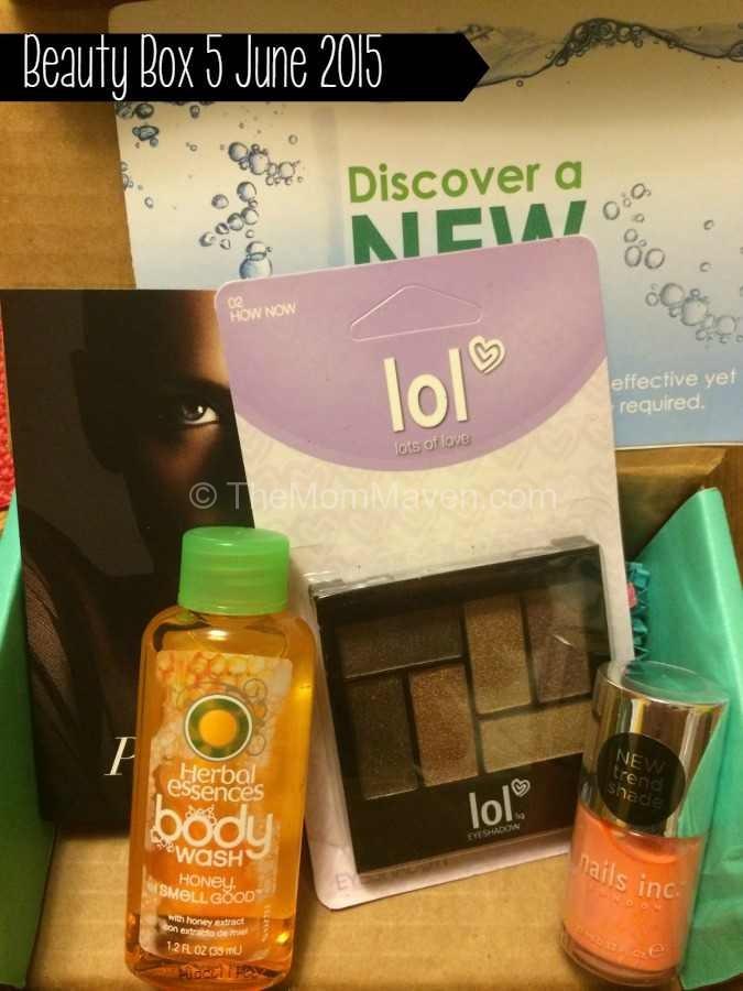 Beauty Box 5 June 2015