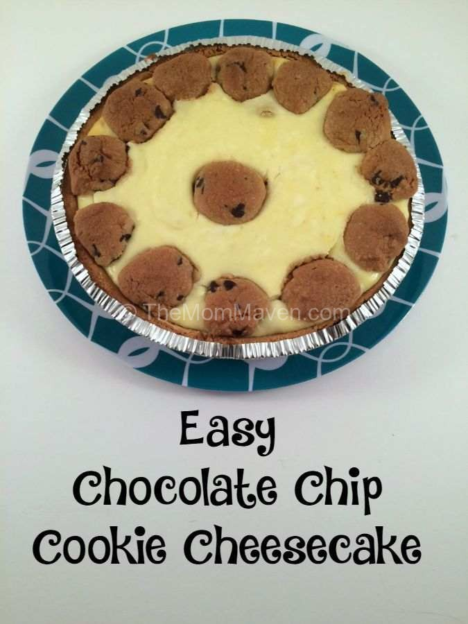 Easy Chocolate Chip Cookie Cheesecake Recipe