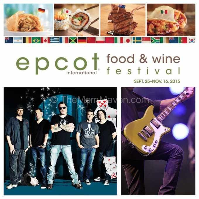 Eat to the Beat Concert Series at the Epcot International Food and Wine Festival now has Fastpass+, Disney