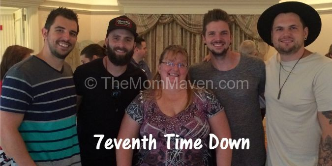We enjoyed getting to know the guys from 7eventh Time Down