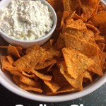 Doritos Dip Recipe-the perfect complement to the always delicious Dorito.