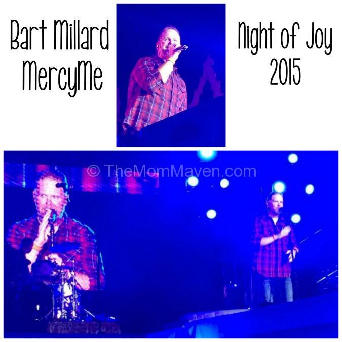 Mercy Me took center stage at Night of Joy at Walt Disney World