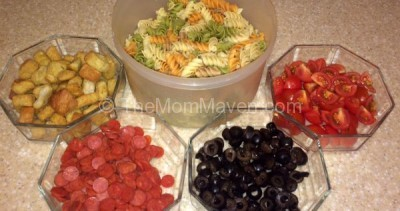 Have a Pasta Salad Bar at Your Next Party