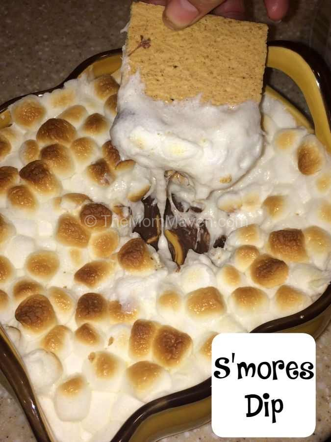 Smores Dip is a great way to bring this favorite outdoor treat indoors.
