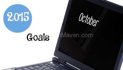 Goals for October 2015