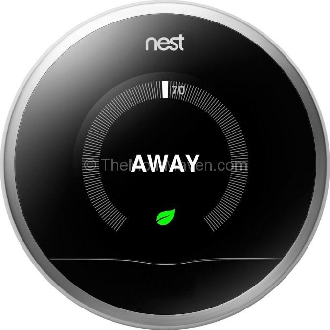 smart homes nest thermostat the mom maven. Black Bedroom Furniture Sets. Home Design Ideas