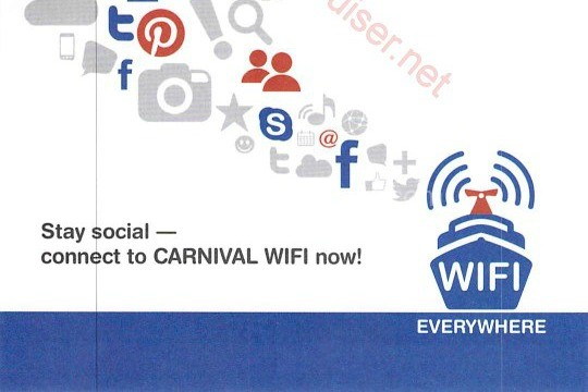 Carnival Wifi Everywhere- The Mom Maven