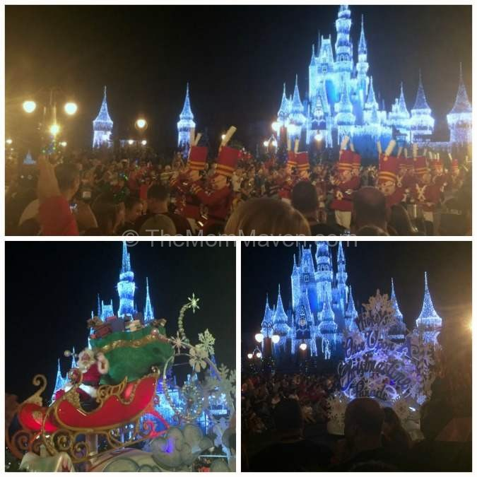 Mickey's Once Upon a Christmastime Parade at Mickey's Very Merry Christmas Party