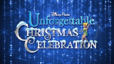 Set your DVR-Disney Parks Unforgettable Christmas Celebration