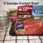3 envelope crockpot roast a simple meal for the whole family