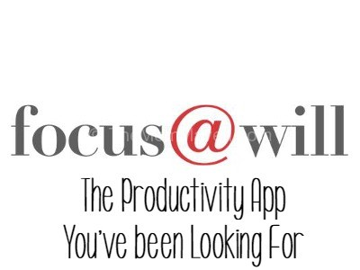 Focus at Will the productivity app you've been looking for