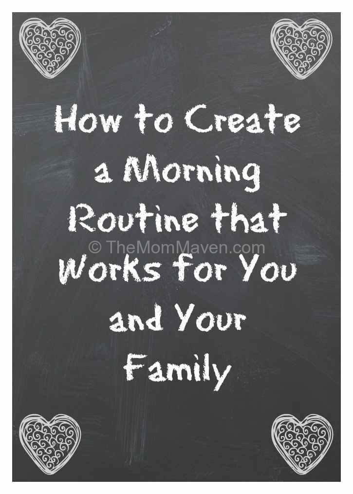 How to create a morning routine |planning|organization
