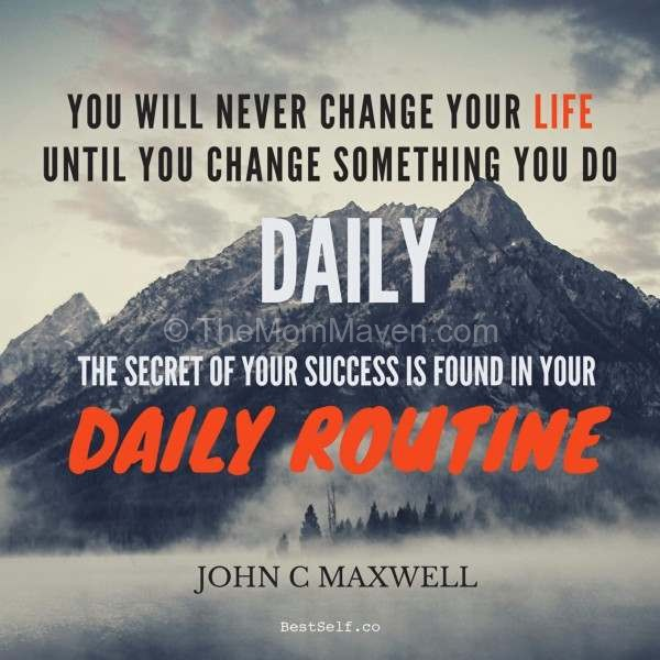 John Maxwell Daily Routine