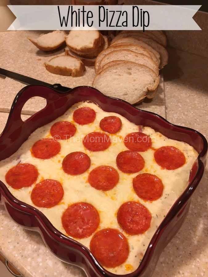 White Pizza Dip appetizer recipe