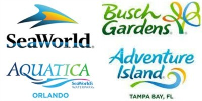 seaworld aquatica busch gardens adventure island
