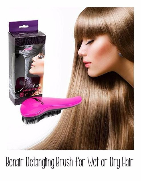 Benair Detangling Brush for wet or dry hair