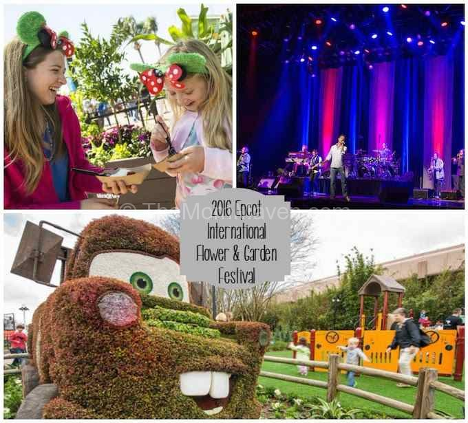 Epcot International Flower & Garden Festival 2016 Walt Disney World