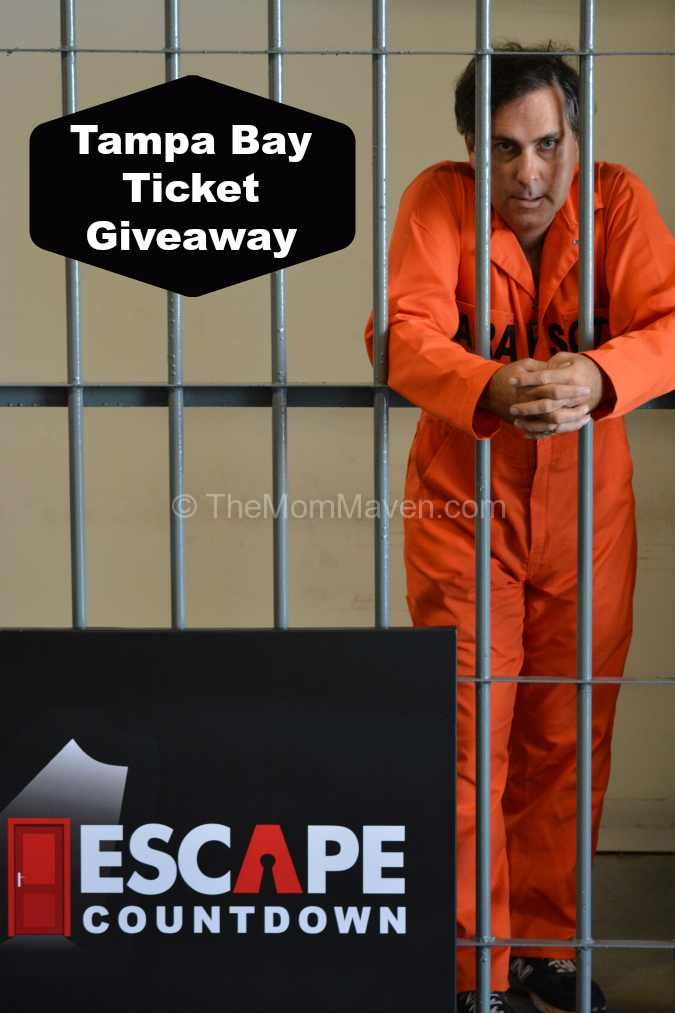Escape Countdown Tampa Bay Ticket Giveaway Jailbreak