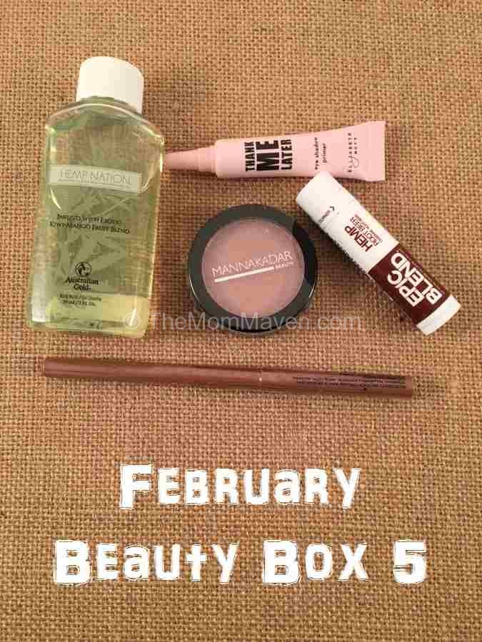 February Beauty Box 5 Shipment