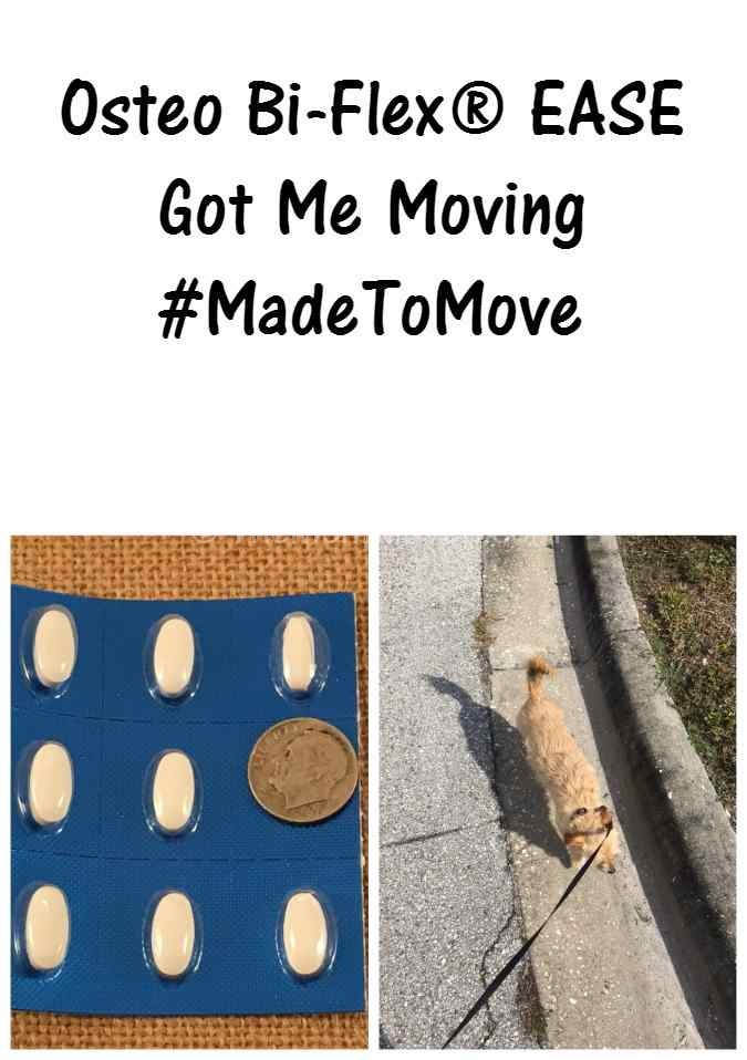 #ad #madetomove Osteo Bi-Flex® EASE Got Me Moving