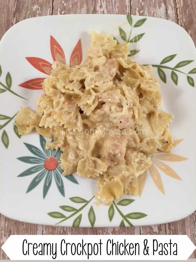 Creamy Crockpot Chicken and Pasta Dinner Recipe