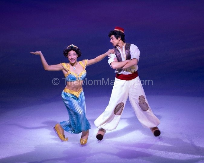 Disney on Ice Aladdin and Jasmine