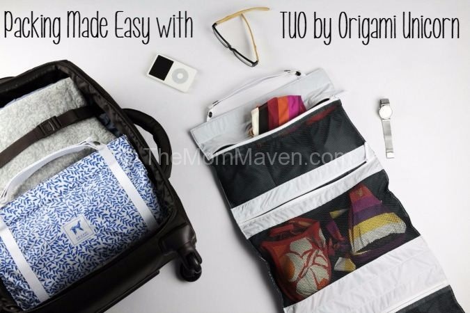 Packing Made Easy with TUO by Origami Unicorn