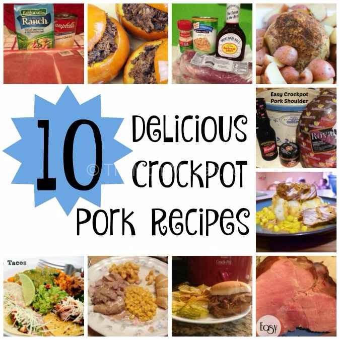 10 Delicious Crockpot Pork Recipes