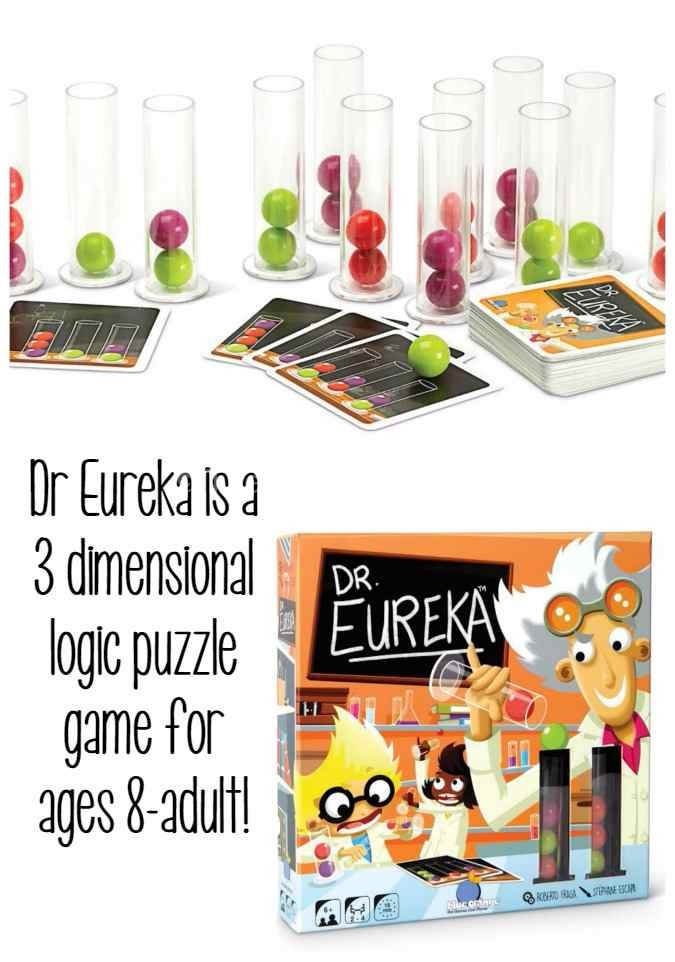Dr Eureka Blue Orange Games