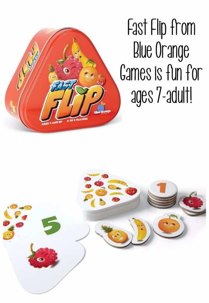 Fast Flip Blue Orange Games
