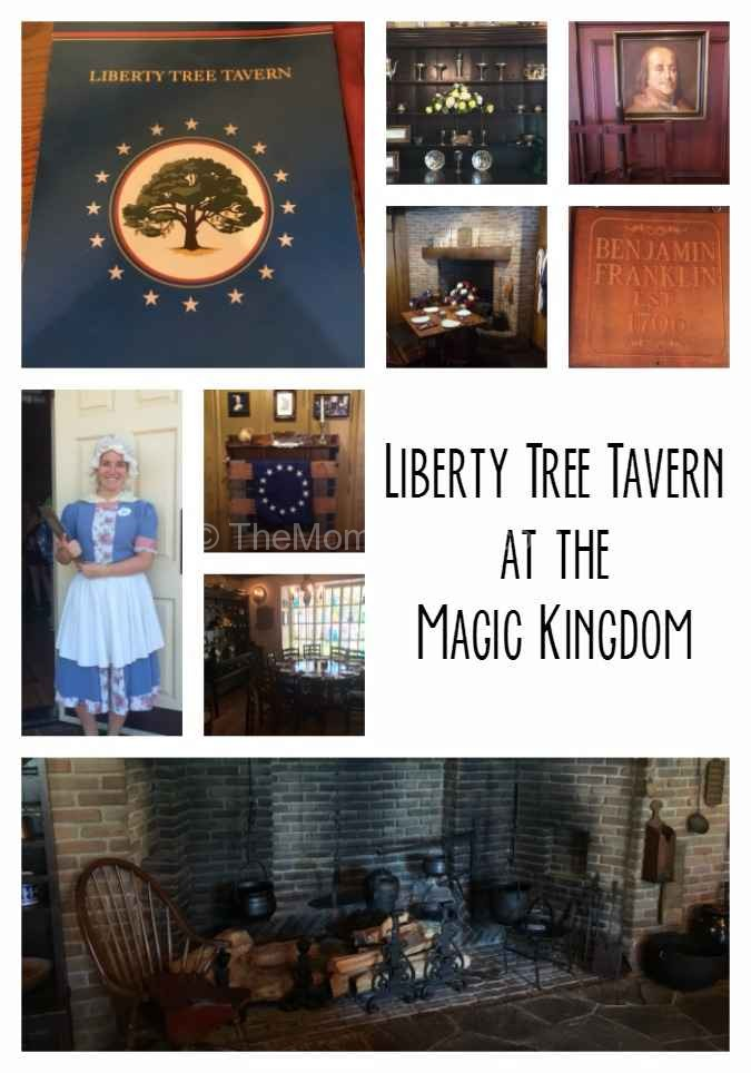 Dining At Liberty Tree Tavern In The Magic Kingdom The