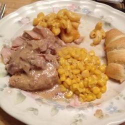 Crockpot Creamy Pork Chops