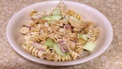 Creamy Parmesan Ranch Pasta Salad