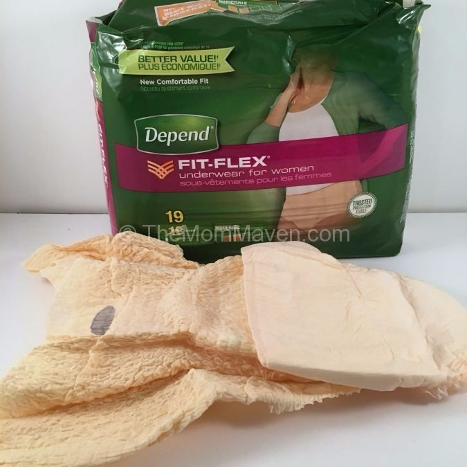 Depend Fit-Flex for an active lifestyle