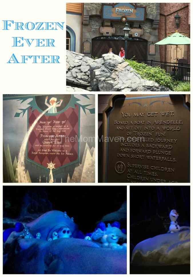 Frozen Ever After at Epcot is a beautiful celebration of love and friendship.