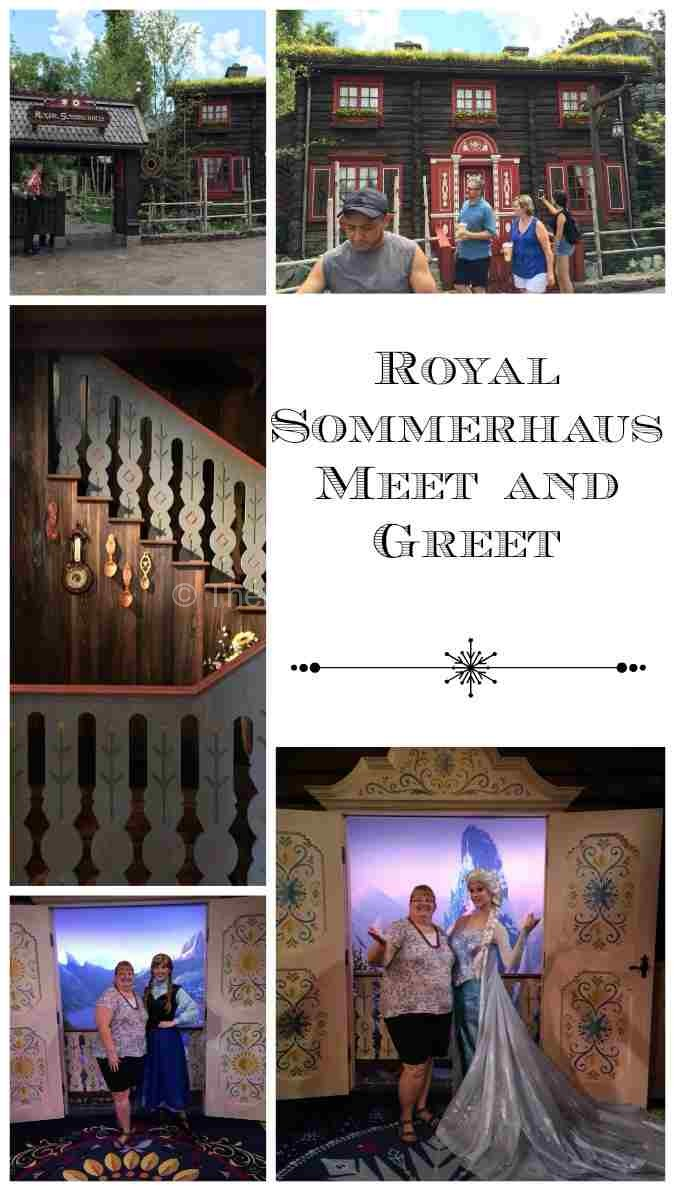 Royal Sommerhaus in Norway at Epcot is a beautiful place to meet Anna and Elsa from Frozen,