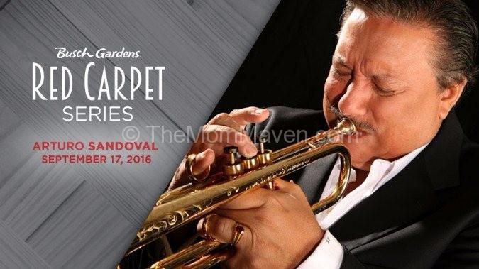 Arturo Sandoval Busch Gardens Red Carpet Series