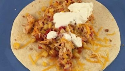 Crockpot Chicken Tacos and Nachos