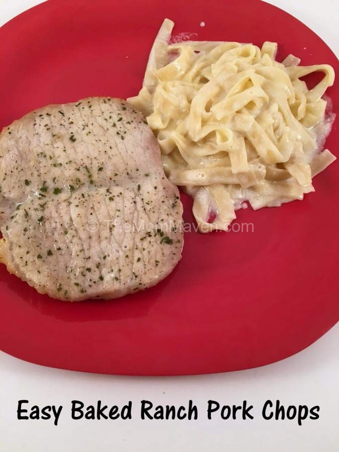 This Easy Baked Ranch Pork Chops recipe has just a few ingredients and lots of flavor.
