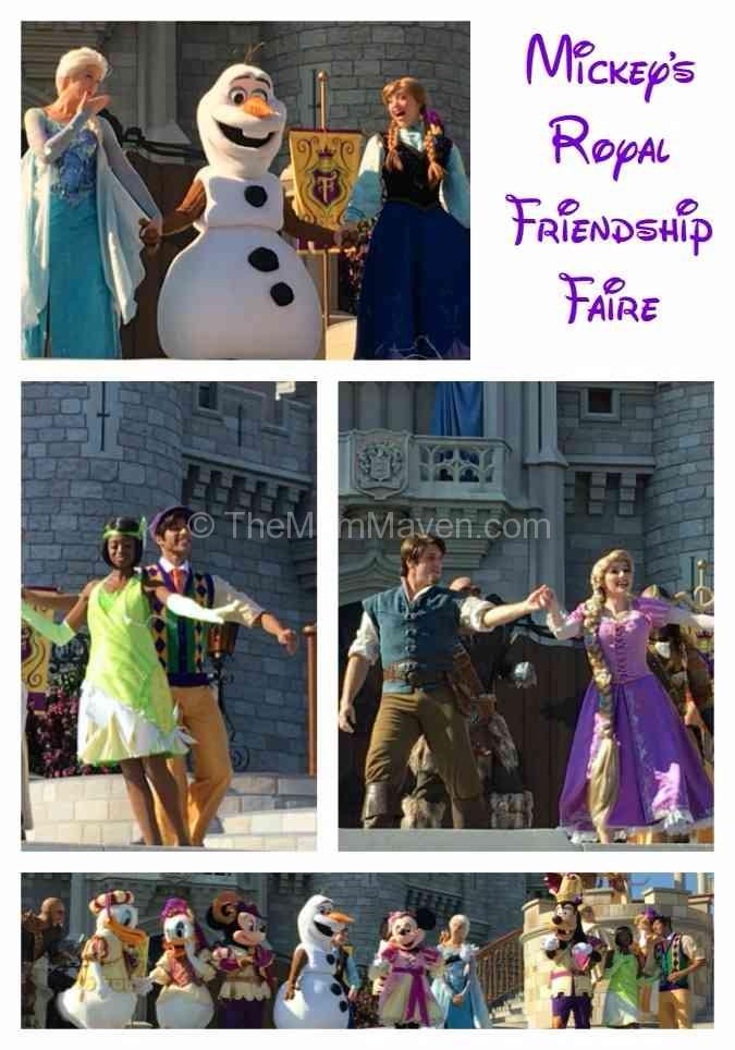 Mickey's Royal Friendship Faire is the new cstle show at the Magic Kingdom,Walt Disney World