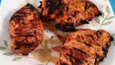 Grilled Barbecue Ranch Chicken recipe