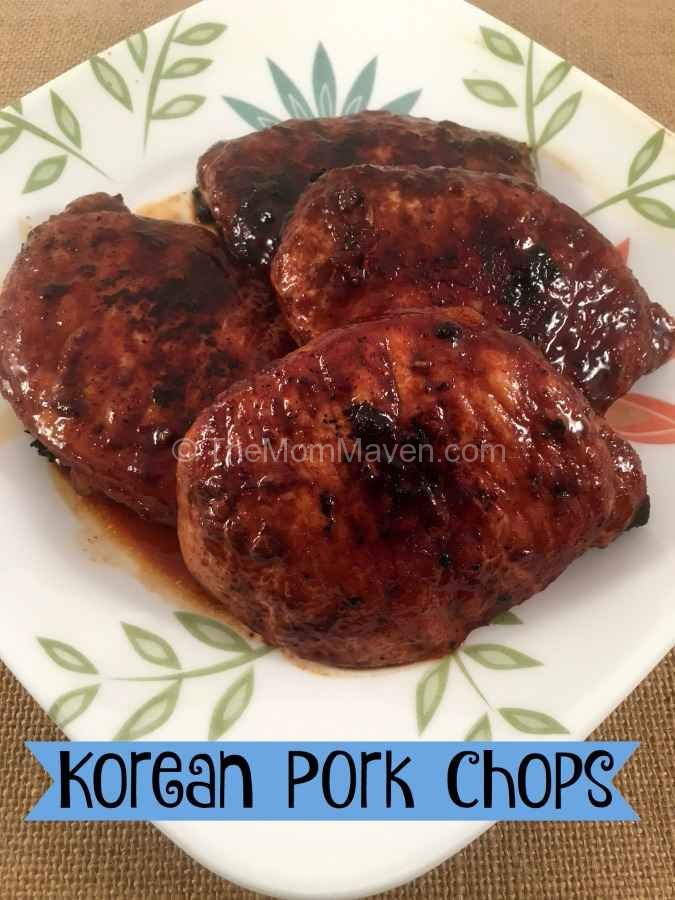 This marinated and pan friend Korean pork chop recipe is easy to make and tasty too.