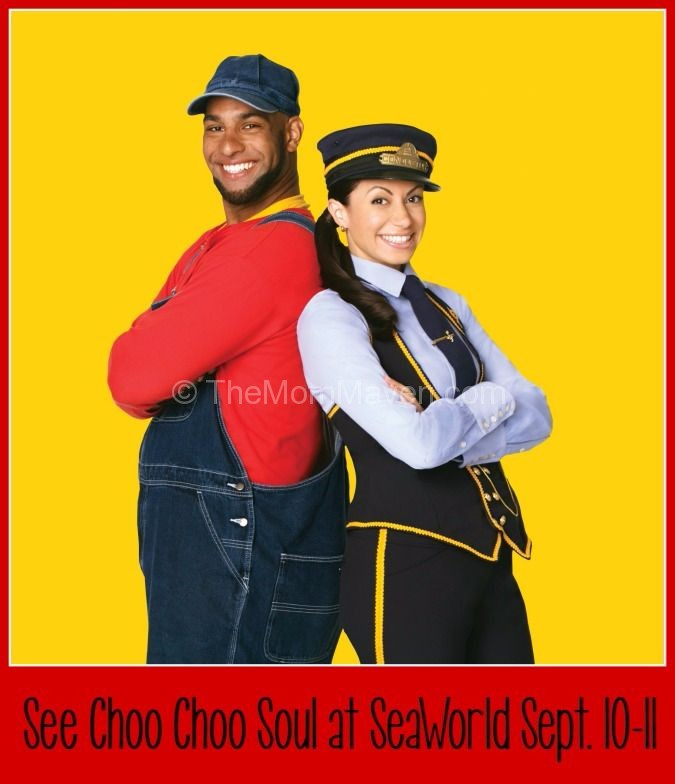 See Choo Choo Soul at SeaWorld Orlando September 10 and 11