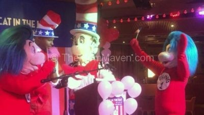 Cat in the Hat for President on Carnival Cruise Lines