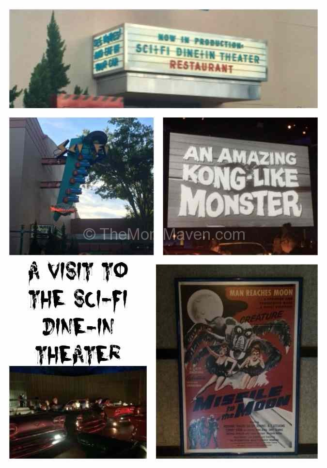 The Sci-Fi Dine-In Theater at Disney's Hollywood Studio is our favorite table service restaurant in that park.